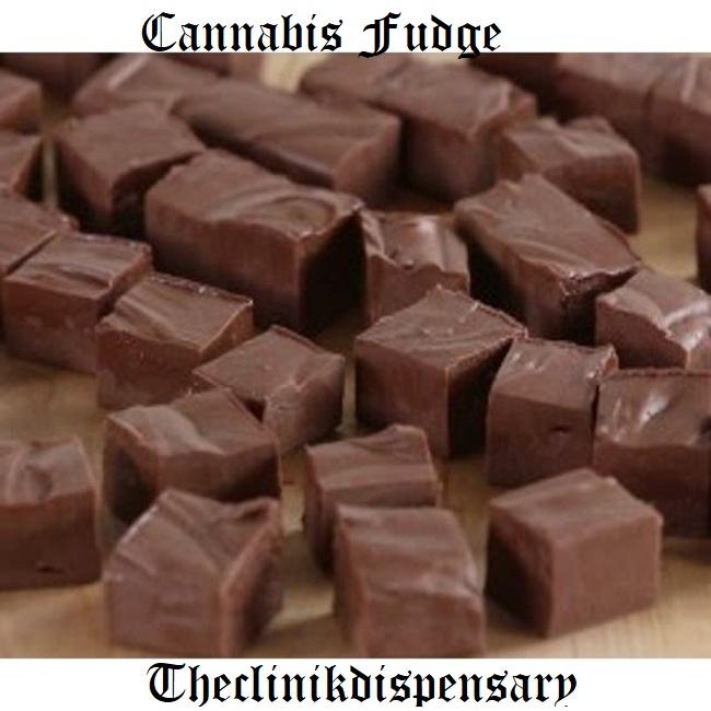 Cannabis Infused Fudge