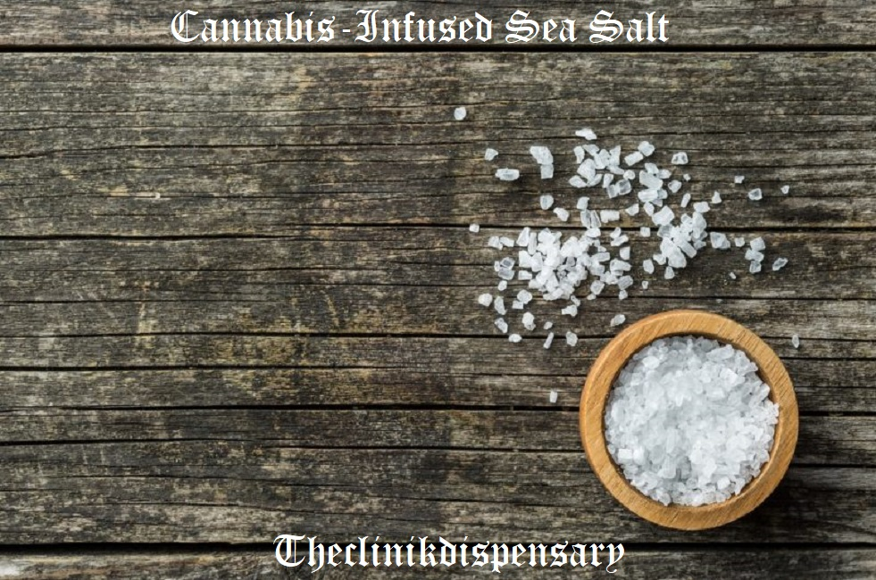 Cannabis-Infused Sea Salt