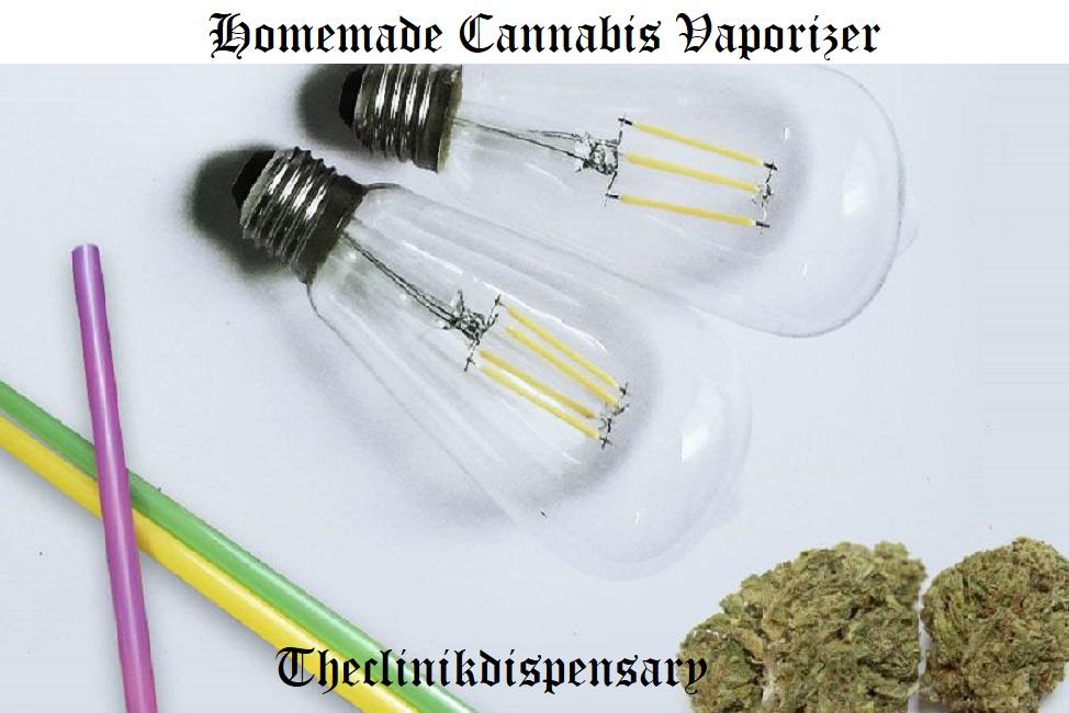 Homemade Cannabis Vaporizer