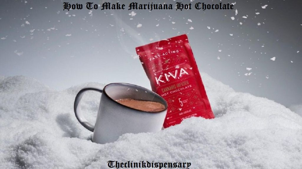 weed hot chocolate