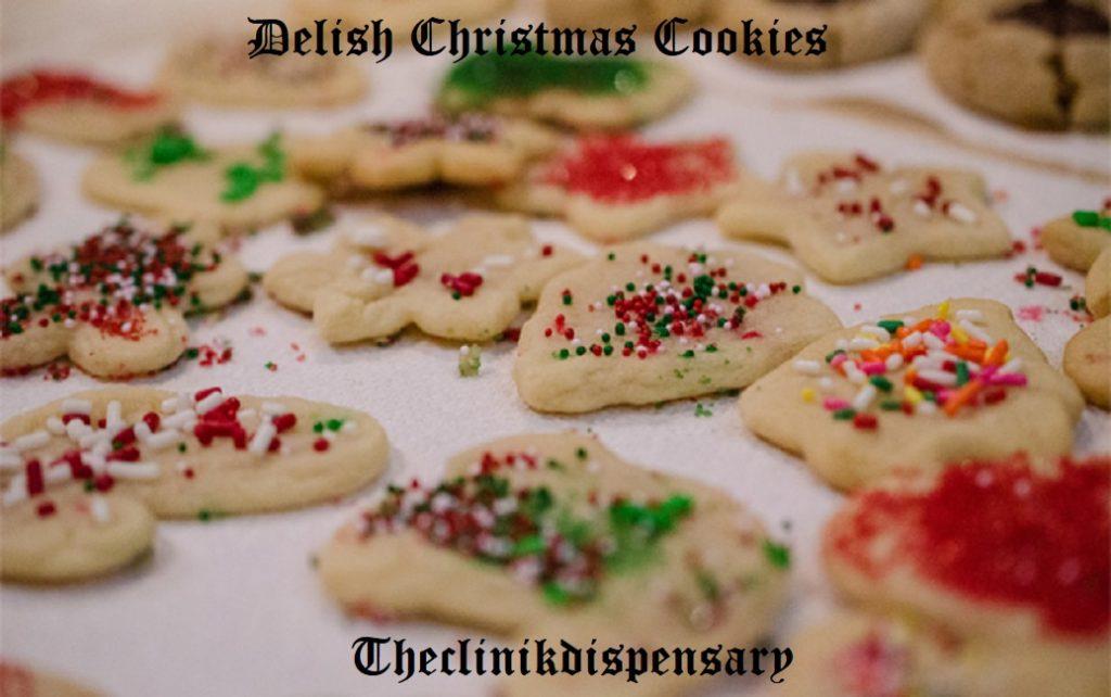 delish christmas cookies