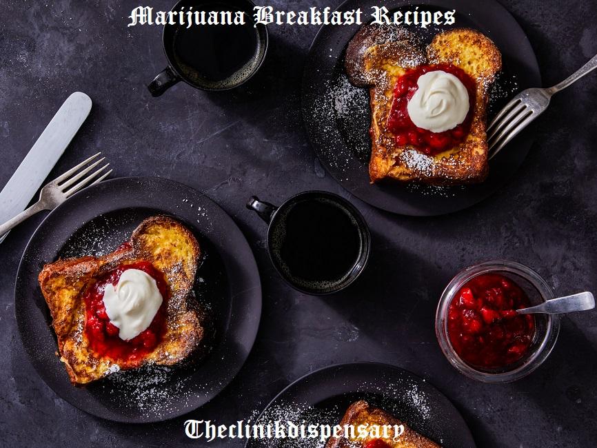 marijuana breakfast