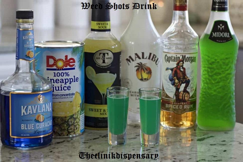 weed shots drink