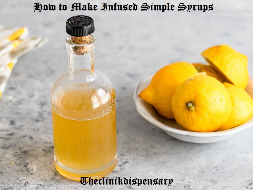 infused syrup recipe